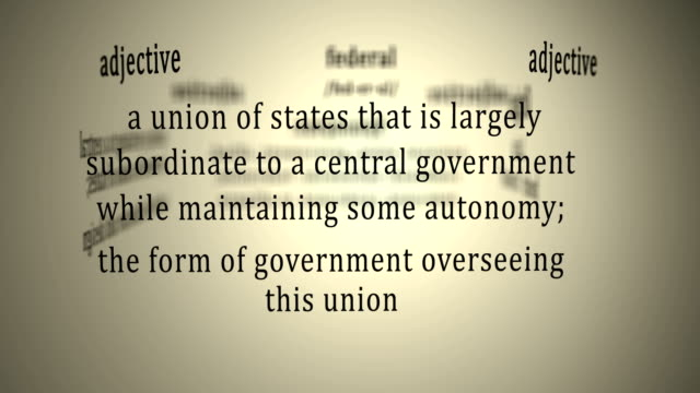 Definition: Federal video