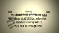 Definition: Identity video