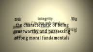 Definition: Integrity video