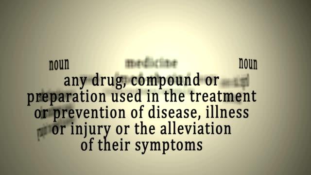 Definition: Medicine video