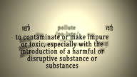 Definition: Pollute video