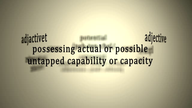 Definition: Potential video