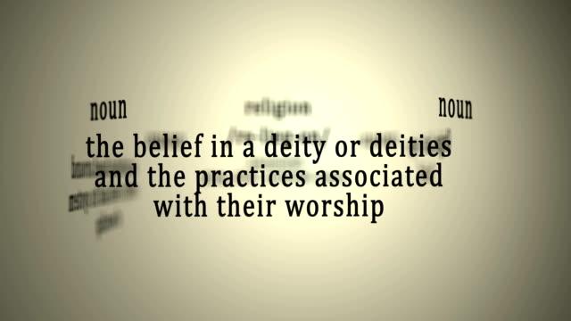 Definition: Religion video