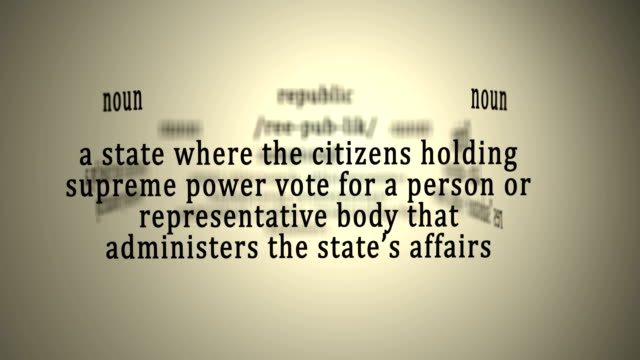 Definition: Republic video