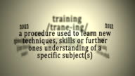Definition: Training video