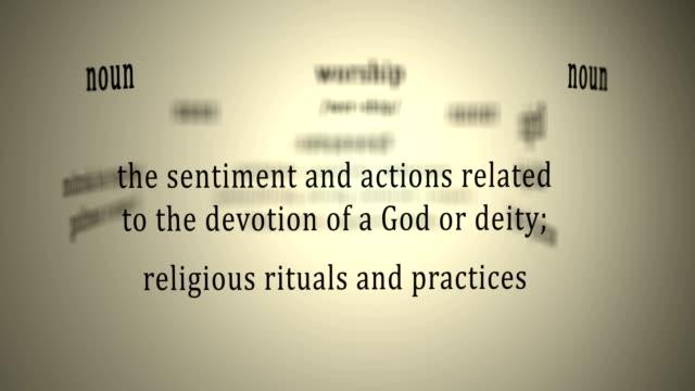 Definition: Worship video