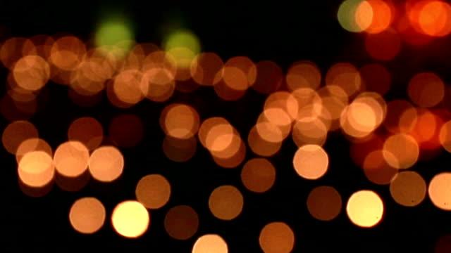defocus lights (bokeh) video