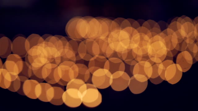 Defocused abstract lights background. video