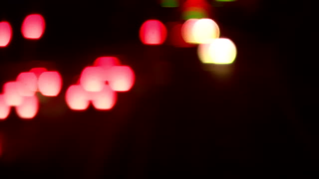 Defocused abstract Shot of Traffic video