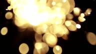 Defocused Bengal light video