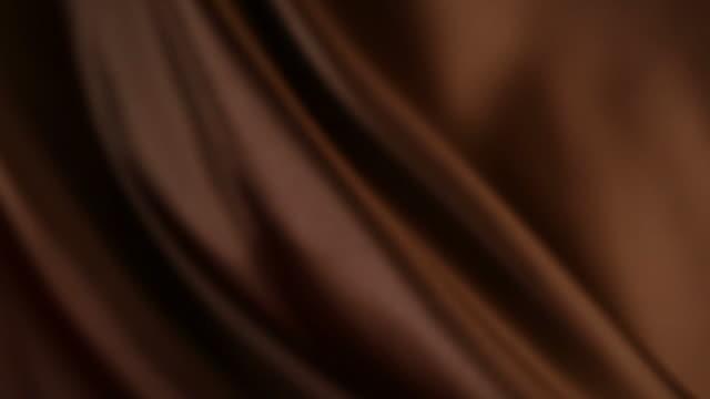 Defocused brown silk video