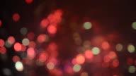 HD1080 - Defocused firework display video