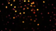 Defocused Firework Explosion video