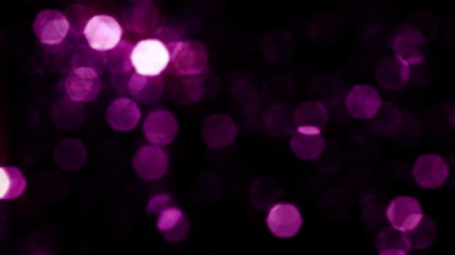 Defocused Hexagons, Violet. video