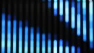 Defocused lights background video