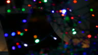 HD: Defocused lights for abstract background. video