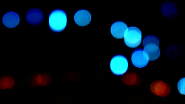 De-focused lights video