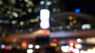 Defocused of Central Business District in Bangkok video
