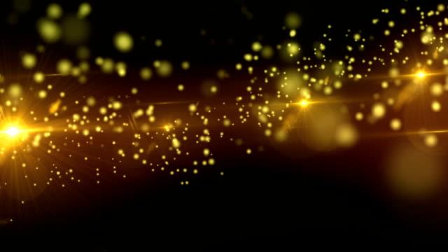 Defocused Particle video