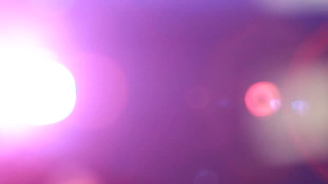 defocused pink and flare - Stock Video video