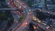 Defocused traffic video