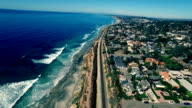 Del Mar Train from Above video