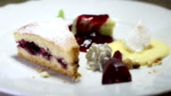 Delicious Dessert - dolly video video