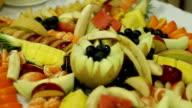 Delicious fresh fruit video