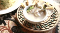 delicious jordanian mansaf cooked in yoghurt sauce video