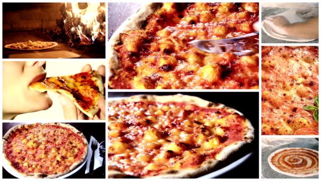 delicious pizza montage video