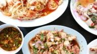 Delicious thai food video