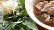 Delicious thai noodle video