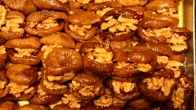 Delicious Turkish baklava on Bazaar video