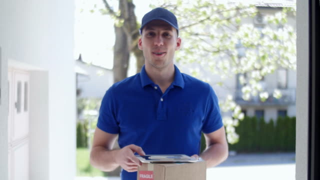 Delivery guy video