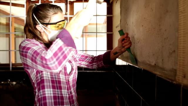 Demolition Day Woman Renovator video