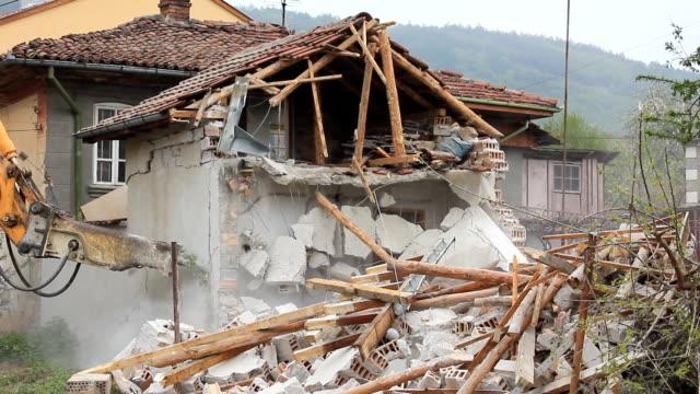 Demolition  house video