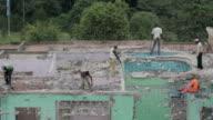 Demolition work in Nairobi - Detail video