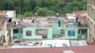 Demolition work in Nairobi - Wide Shot video