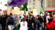 demonstration - blurred video
