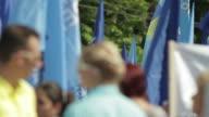 Demonstration In City video