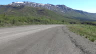Dempster Highway in the Yukon video