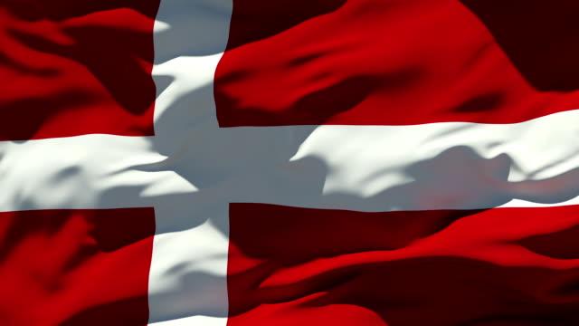 Denmark Flag video