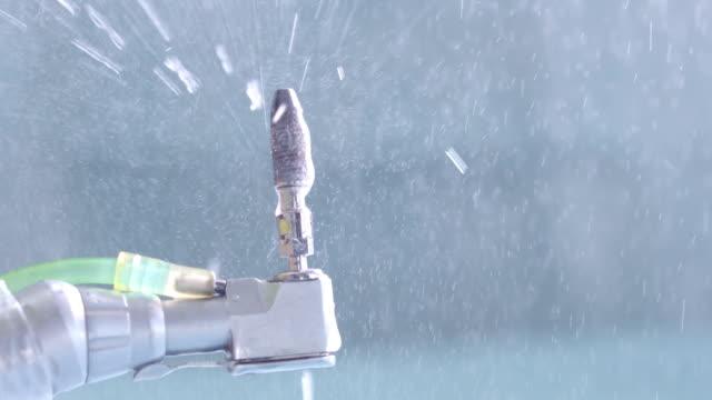 SLOW-MO: Dental drill video