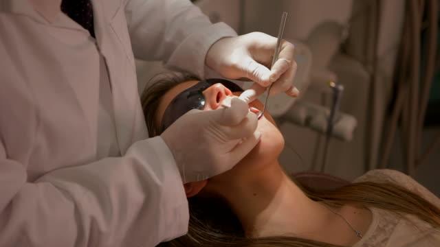 Dental examination video