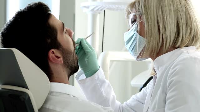 Dental procedure video