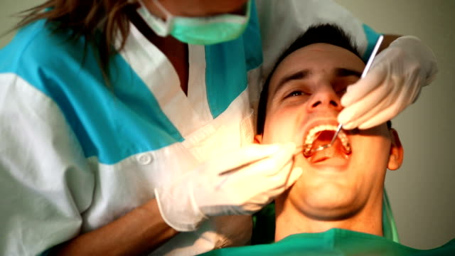 Dental procedure. video