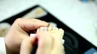 Dental prostetics video