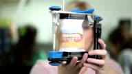 Dental technician with articulator video
