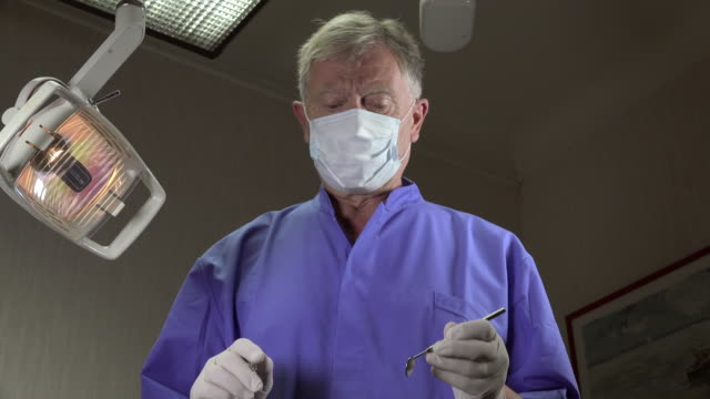 dentist approach to operate video