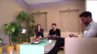 Dentist Clinic waiting room video